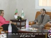 Ambassadeur des Etats-Unis d'Amérique à Alger en viste du MSP